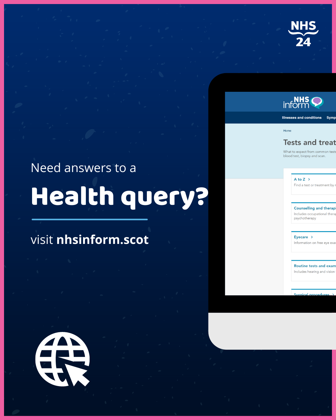 NHS Inform - Health Query